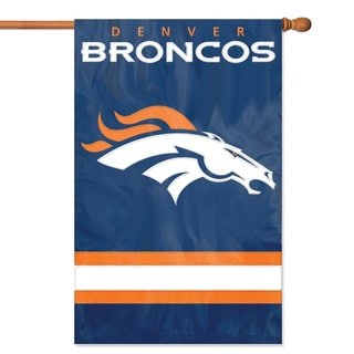 Party Animal Denver Broncos Official Banner Flag
