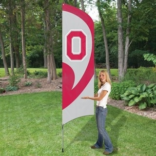 Party Animal Ohio State Tall Team Flag