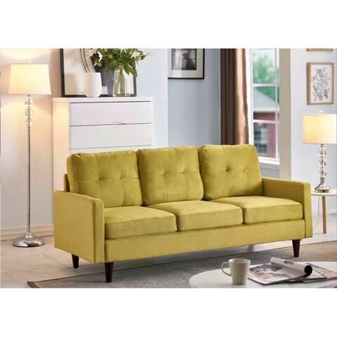 Brodde Velvet Sofa