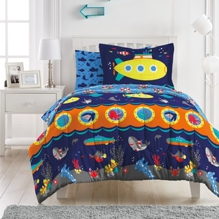 Link to Dream Factory Submarine Microfiber Bed in a Bag with Sheet Set Similar Items in Kids Comforter Sets