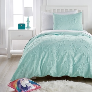 Link to Dream Factory Butterfly 3-Piece Microsculpt Comforter Set Similar Items in Kids Comforter Sets