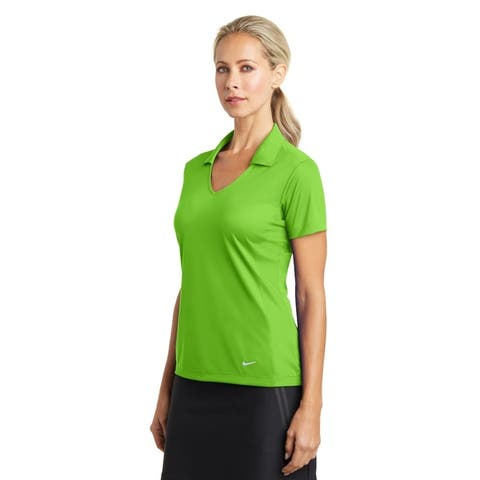 Nike Women's DRI-FIT Mesh Polo
