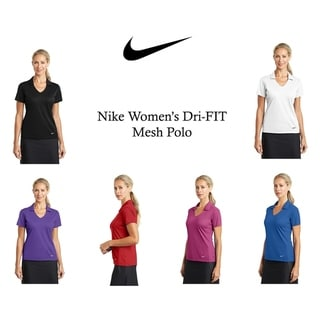 Link to Nike Women's DRI-FIT Mesh Polo Similar Items in Golf Clothing
