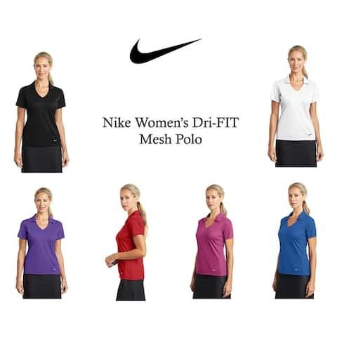 Nike Women's DRI-FIT Mesh Polo