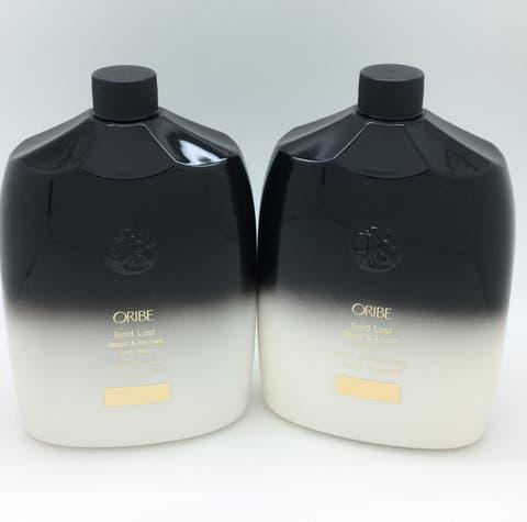 Oribe Gold Lust Repair & Restore Shampoo & Conditioner Liter Duo