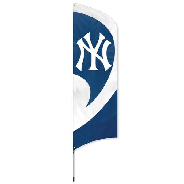 New York Yankees 8-foot Team Banner Flag
