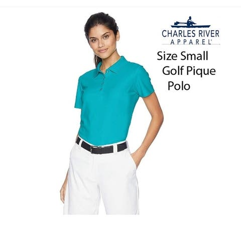Womens Moisture Mgmt Pique (Size XS) Golf Polo