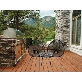 Link to HighlanderHome Acapulco Chair For Indoor and Outdoor Lounge/Patio Use Similar Items in Patio Furniture