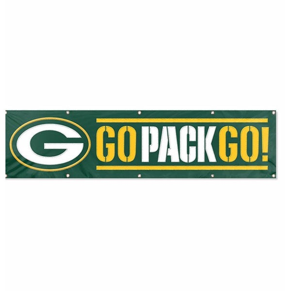 Green Bay Packers 8-foot Hanging Banner