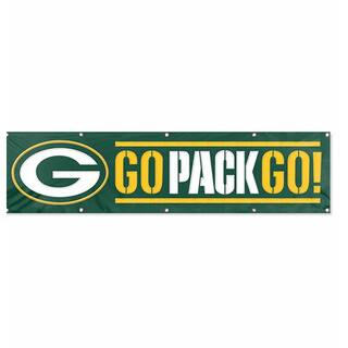 Green Bay Packers 8-foot Hanging Banner https://ak1.ostkcdn.com/images/products/3121407/P11246650.jpg?impolicy=medium