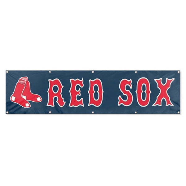 Boston Red Sox 8-foot Hanging Banner