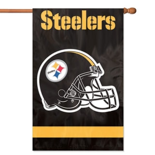 Pittsburgh Steelers Official Banner Flag