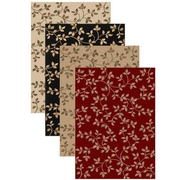 Virginia Floral Rug (7'9 x 11') - 7'9 x 11'