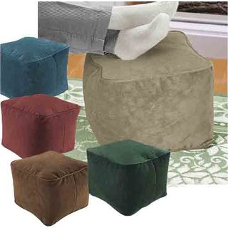 Sueded Cube Ottoman/ Footstools