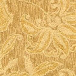 Safavieh Hand-hooked Eden Abrashed Beige/ Light Brown Wool Rug (4' Round) - Thumbnail 1