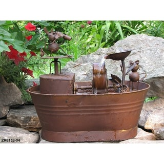 Link to Fountain with Cat and Dogs Similar Items in Outdoor Decor
