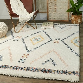 Link to Culver Berber Shag Area Rug Similar Items in Shag Rugs