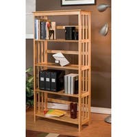 Mission-style Solid Wood Bookcase