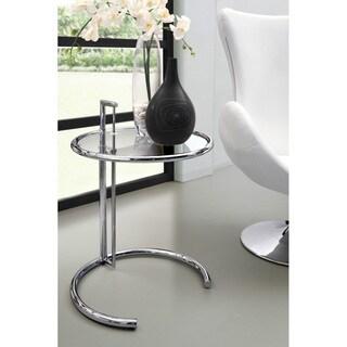 Eileen Modern Grey Glass Table