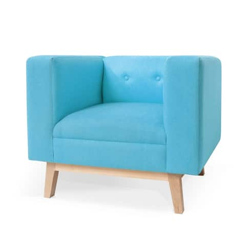 Taylor & Olive Calypso Blue Sofa Chair - 9' x 12'