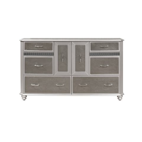 Global Furniture USA Silver Metallic Remi Dresser