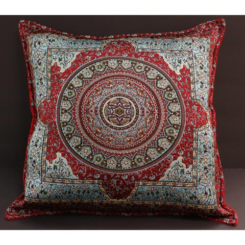 Mimosa Chenille Decorative Turkish Pillow