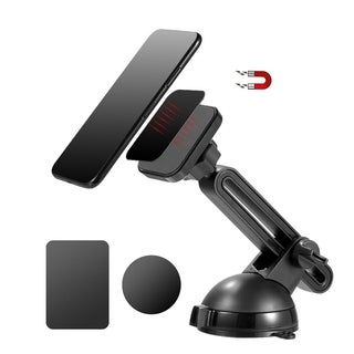 universal magnetic dashboard and windshield car mount phone holder