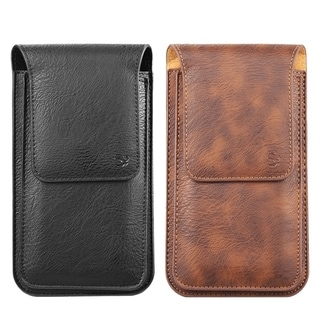 Link to Universal Cellphone Vertical Vegan Leather Belt Loop Pouch Similar Items in Wallets