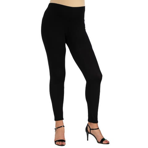 Womens Stretch Ankle Length Maternity Leggings