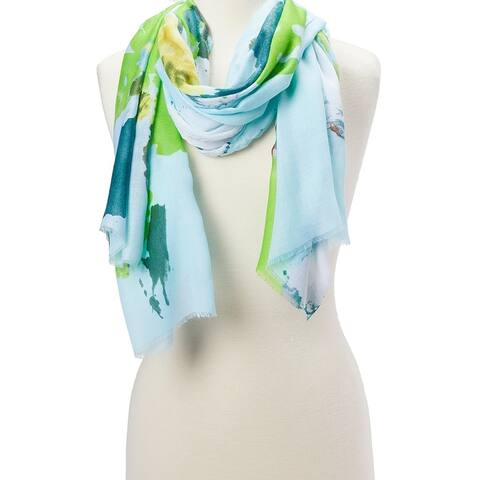 Women fashion scarves Soft Viscose Ladies Scarves Shawl Wraps Girls Beautiful Neck Hair Scarfs - Large