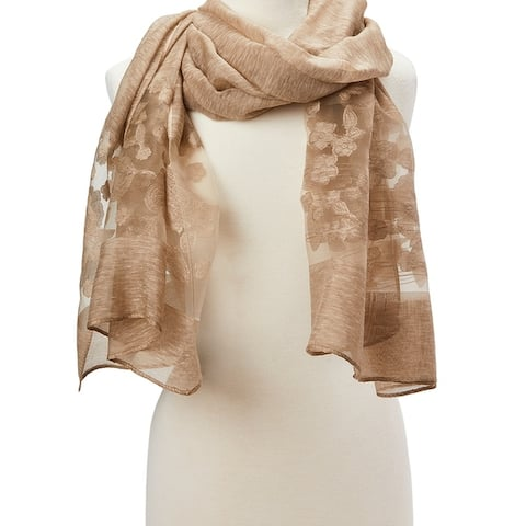 Fashion Women Lady Girls Viscose Scarf Soft Shawl Wrap Lightweight Beautiful Hair Scarves - Large