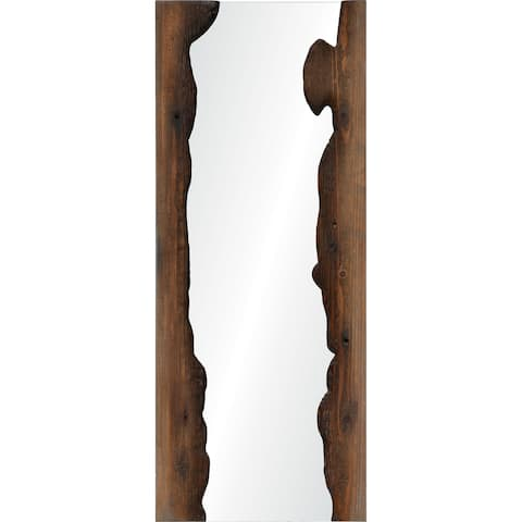 Renwil Connix Framed Fir Wood Mirror - Clear - Large