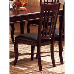 Cherry Splendor Dining Chairs Set Of 2