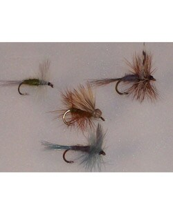Guide's Choice 144 Trout Fly Fishing Lure Set