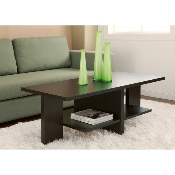 Coffee Table Overstock Part - 48: Furniture Of America Classic 47-inch Wood Coffee Table