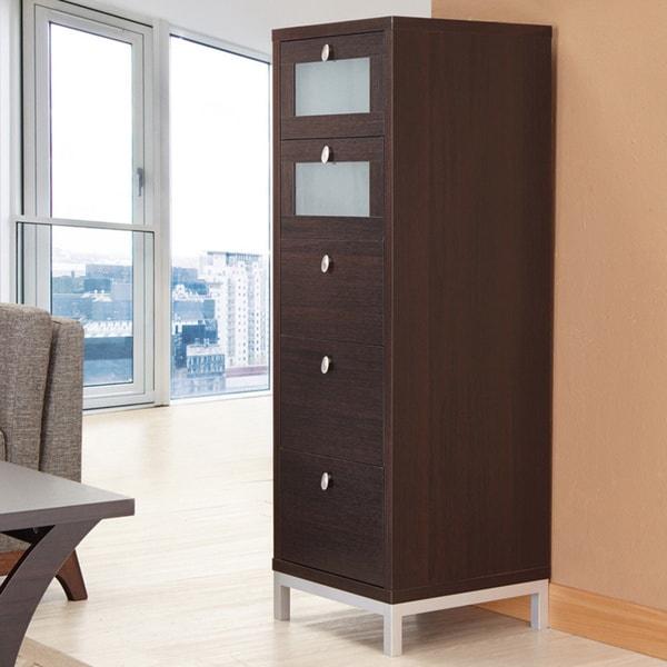 Furniture of America Five-drawer Storage Cabinet