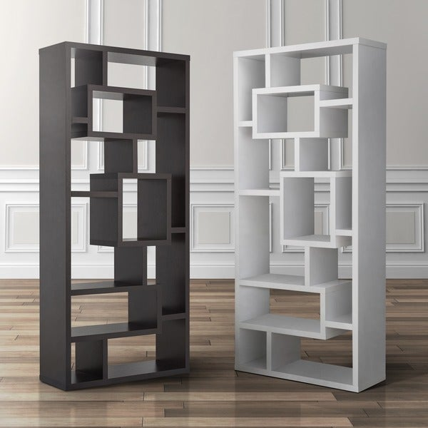 Furniture of america tribeca bookcase display cabinet for Furniture of america nara contemporary 6 shelf tiered open bookcase