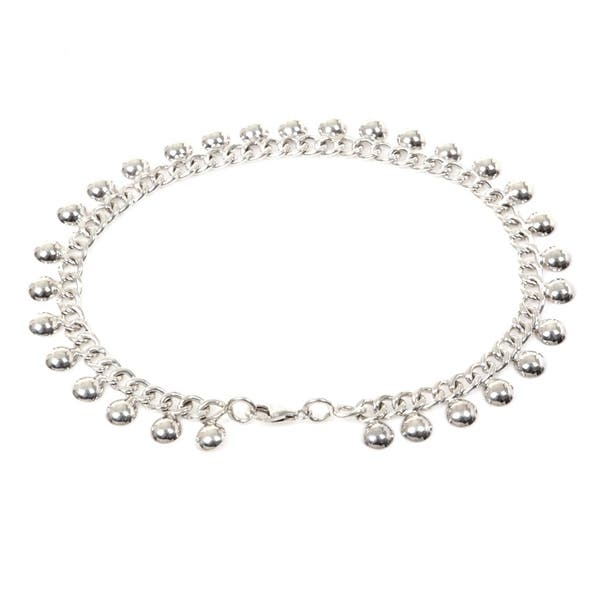 Details about  /Traditional Bolllywood 925 Sterling Silver Anklet