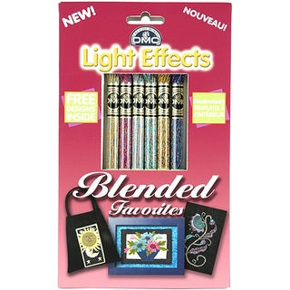 DMC Light Effects Blended Favorites Floss Pack