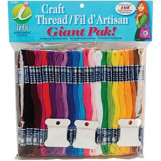 Jumbo Value Pack Cotton Craft Floss
