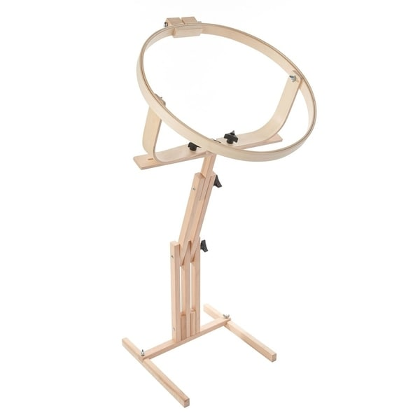 Edmunds Quilters Wonder Adjustable Quilting Hoop Frame With Stand Floor F.a