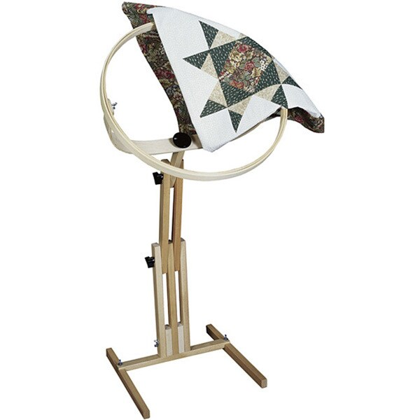Quilter's Wonder Hoop Floor Stand - Free Shipping Today ... : quilt hoop floor stand - Adamdwight.com