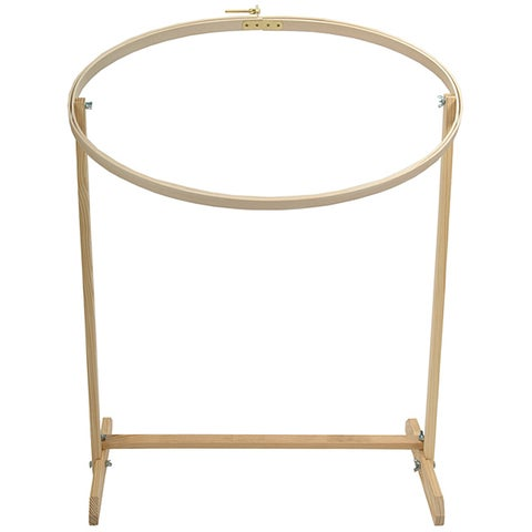 Edmunds Hardwood Flo0r Stand Embroidery Hoop
