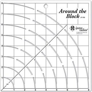 Around The Block Craft Ruler