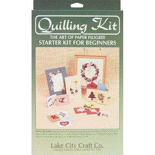 Lake City Craft Quilling Starter Kit - Includes Instructions