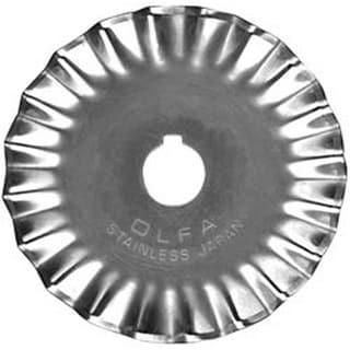 OLFA Rotary Cutter 45mm Pinking Blade