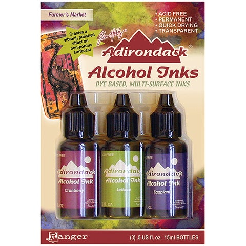 Adirondack Alcohol Ink 3-Pack (.5 oz Each)