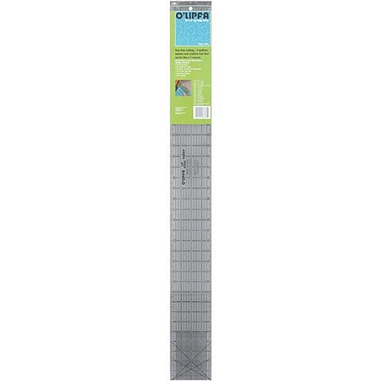 O'lipfa Craft Ruler with Lip Edge