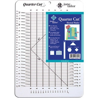 June Tailor Quarter Cut 45-degree Angle Ruler