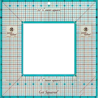 Get Squared 12.5-inch Outer, 6.5-inch Inner Ruler